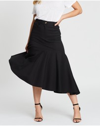 Atmos&Here - Gallica Asymmetric Skirt