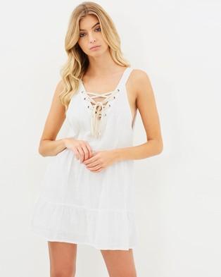Girl & The Sun – Waves Dress White