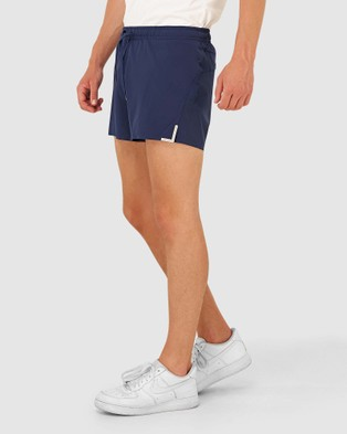 Superdry Sport Run Lightweight Shorts - Shorts (Beechwater Blue)