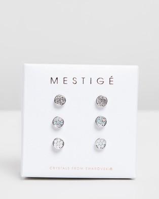 Mestige Elsie Earrings Set with Swarovski?« Crystals - Jewellery (Silver)