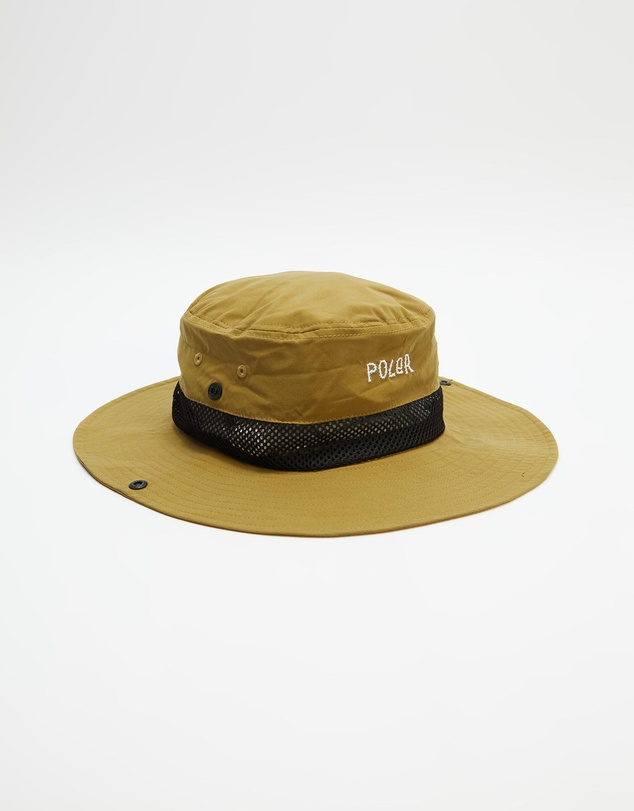 Men Long Brim Hat
