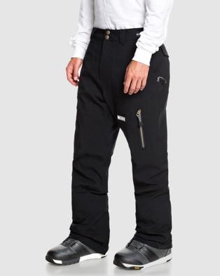 DC Shoes Mens Division Shell Snow Pant - Pants (Black)