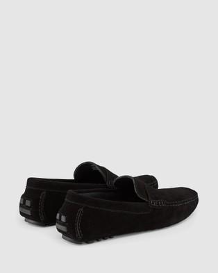 Aquila - Lenox Driving Shoes Casual (Black)