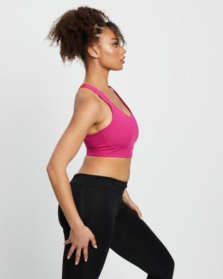 adidas Performance - Ultimate Training Bra - Sports Bras (Team Real Magenta & Vivid Red) Ultimate Training Bra