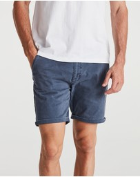 Coast Clothing - Solid Chino Shorts