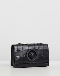 VERSUS Versace - Lion Mock Croc Print Clutch Bag