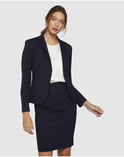 Oxford - Pixie Wool Stretch Suit Jacket