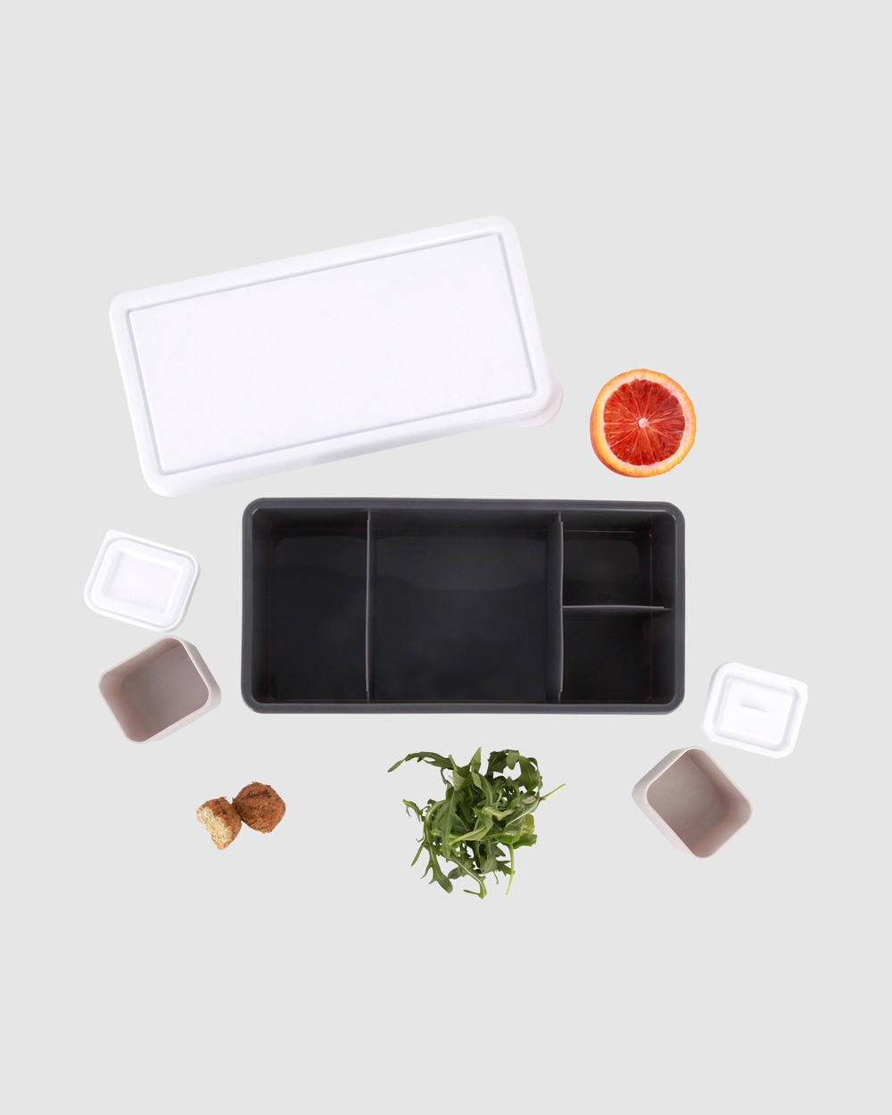 Love Mae Lunch Box Lunchboxes Charcoal