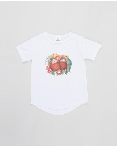 Walnut Melbourne - May Gibbs Frankie Placement Tee - Babies