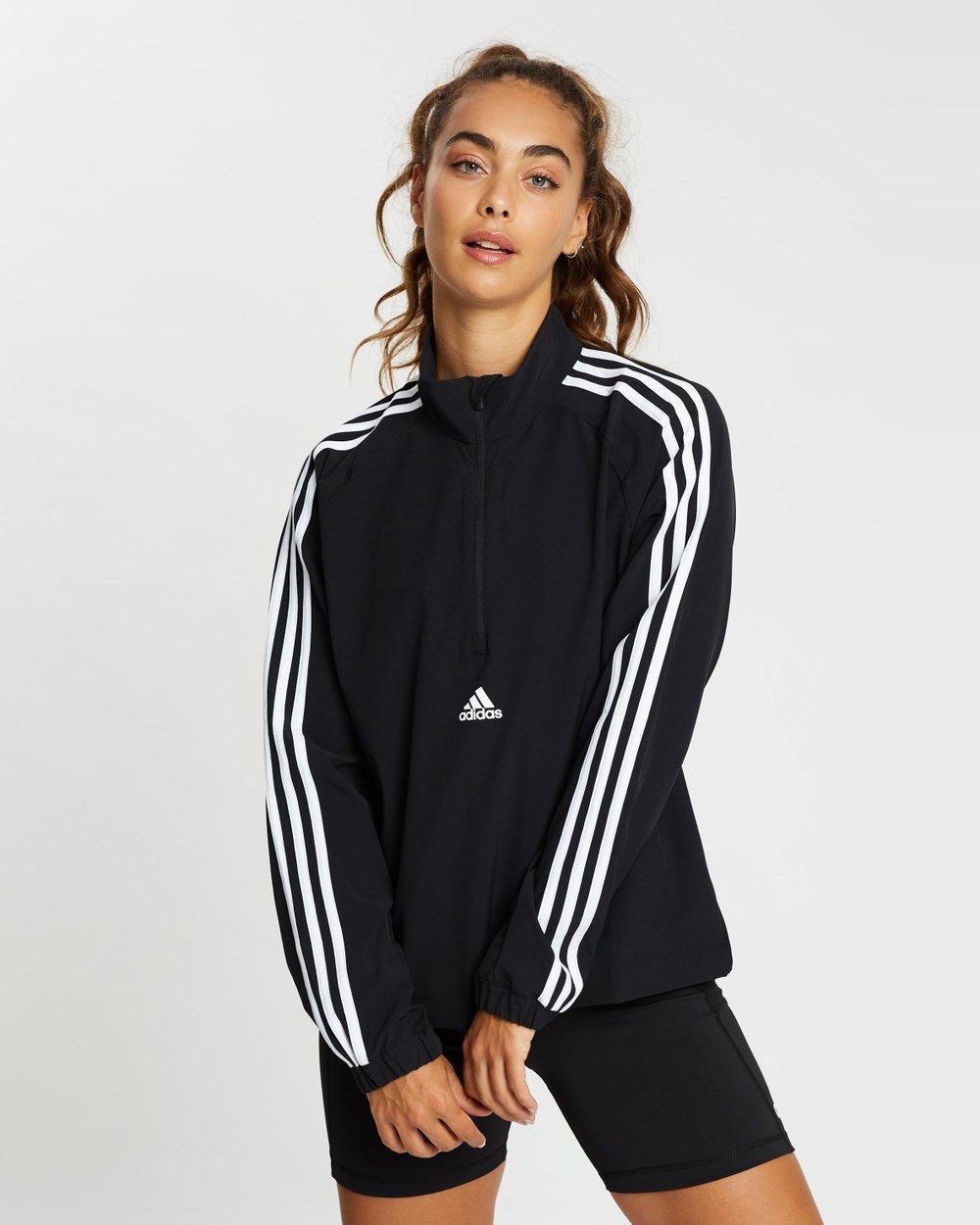 sílaba Desconexión Mendicidad  3-Stripes Cover-Up Jacket by adidas Performance Online | Aljadid | Australia
