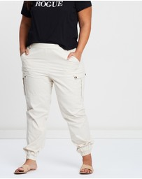 Atmos&Here Curvy - Lucy Utility Pants