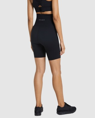 Rockwear Maternity Bike Shorts - 1/2 Tights (BLACK)