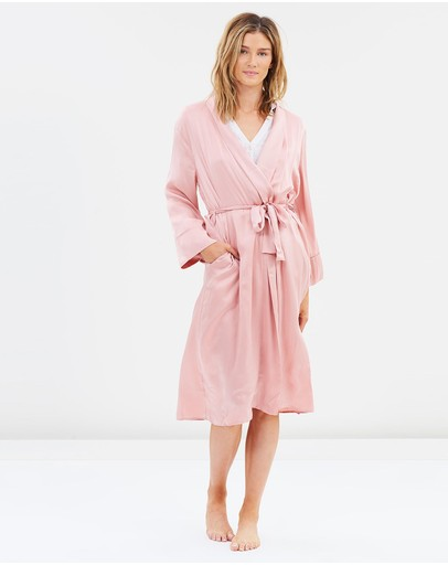 Papinelle - Pure Silk Robe