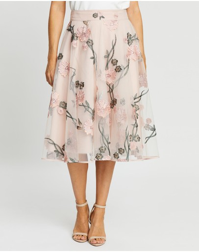 Review - Cascading Camelia Skirt