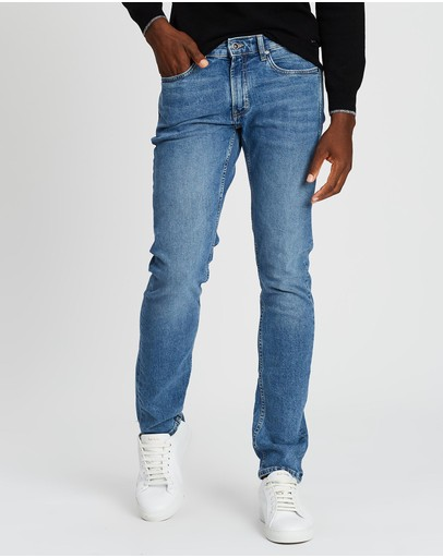 Rodd & Gunn Lowry Straight Fit Jeans - Long Leg Sky Blue