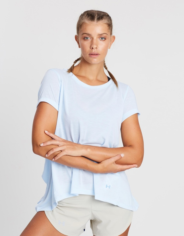 Under Armour - Whisperlight SS Foldover T-Shirt
