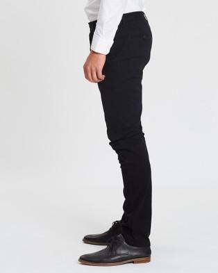 3 Wise Men Charlie Chinos - Pants (Black)