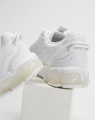 ASICS GEL Quantum 90   Men's - Performance Shoes (White & White)