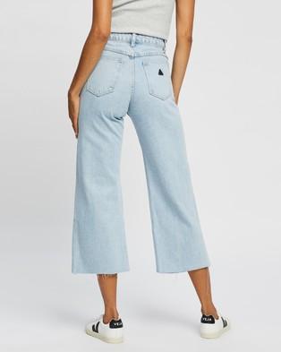 Abrand A Street Aline Crop Jeans - Crop (Walk Away Rip)