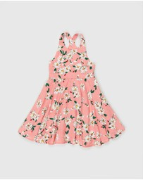 PLAY etc - Lily Cross Back Dress - Kids