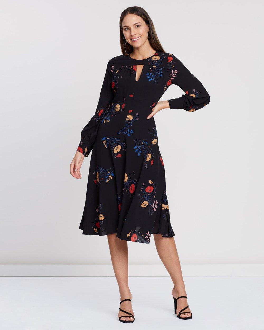 0d6c5eb46b35 Gogo Long Sleeve Midi Dress by Cooper St Online