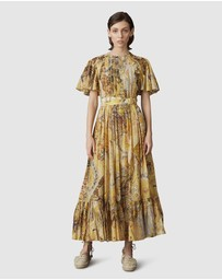LEO & LIN - Illusory Silk Cotton Dress