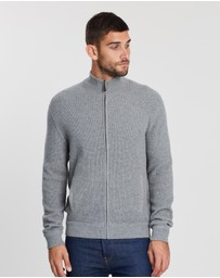 Polo Ralph Lauren - Long Sleeve Full-Zip Loryelle Wool Sweater