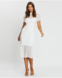 Atmos&Here - Genevieve Tiered Midi Dress