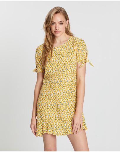 3de9e4031b4 Yellow Dresses