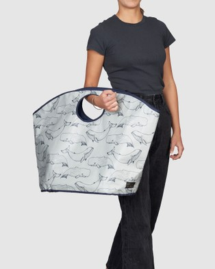 Urban Originals Carry All Bag - Bags (Whales)