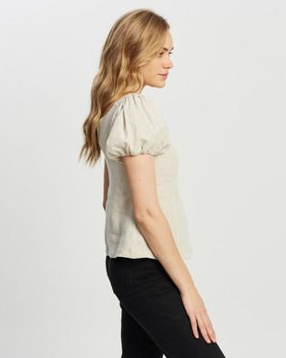 Apartment Clothing Milla Off Shoulder Top - Tops (Natural)