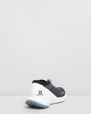 Salomon Sense Feel Shoes   Men's - Walking (India Ink, White & Flint Stone)