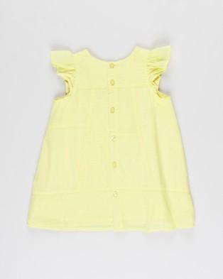 Cotton On Baby Mabel Dress   Babies - Dresses (Lemon Drop)