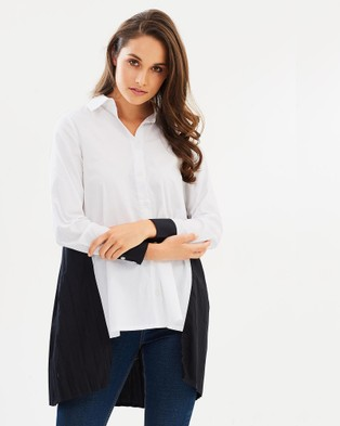 ALPHA-BE – Case Of Contrast Shirt Vol. 2 White