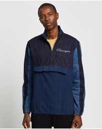Champion EU - Denim Quarter Zip