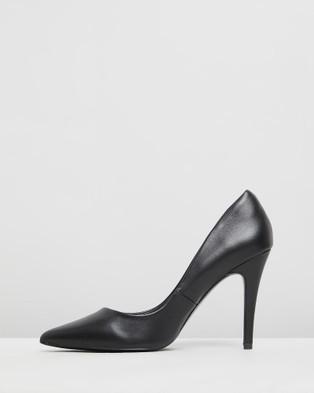 Siren Baku - All Pumps (Black Leather)