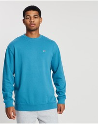 Tommy Jeans - Washed Crew Sweatshirt