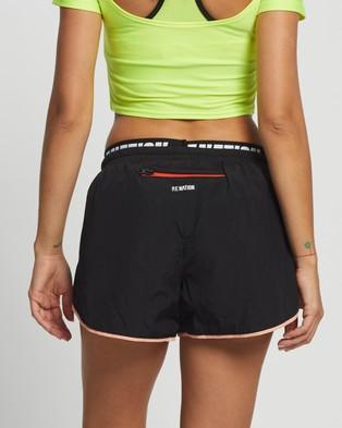 P.E Nation Align Shorts Black