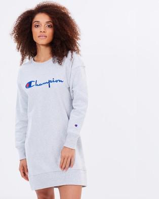 Champion Life – Reverse Weave Dress Grey