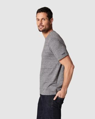 Blazer - Denver Melange Classic Tee - Short Sleeve T-Shirts (Charcoal Marle) Denver Melange Classic Tee