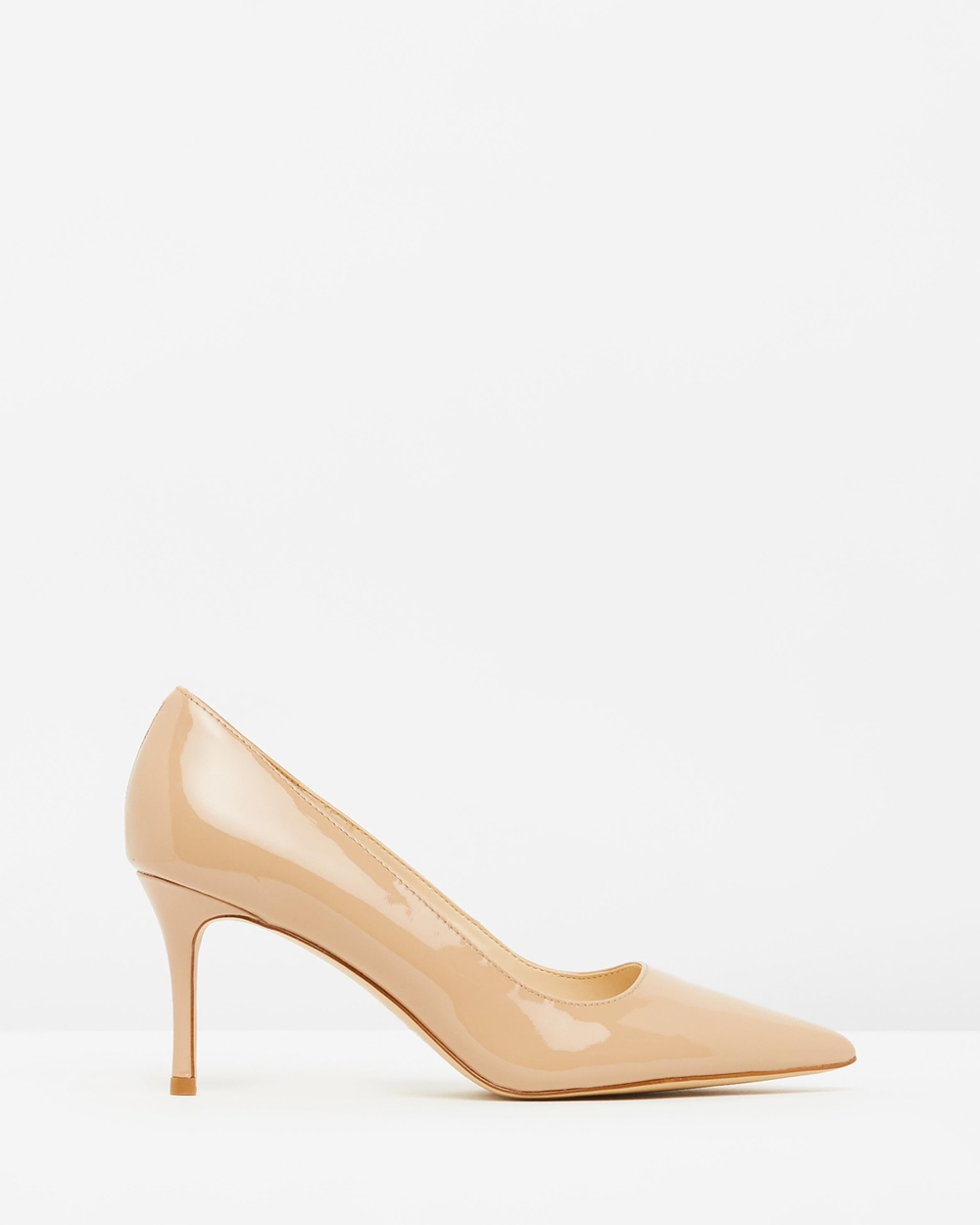 Nine West Mailin All Pumps Barely Nude Patent Mailin