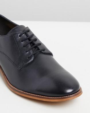 Double Oak Mills Baxt Leather Derby - Dress Shoes (Black)
