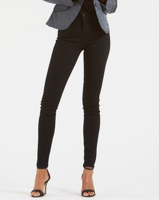 Amelius Skyscraper Jeans - High-Waisted (Black)