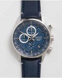 Seiko - Chronograph Leather 42.7mm