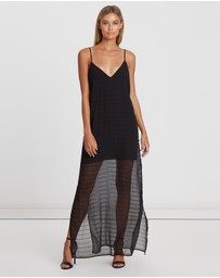 BWLDR - Dawson Sheer Overlay Dress
