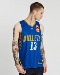 First Ever - NBL - Brisbane Bullets 19/20 Authentic Home Jersey - Lamar Patterson