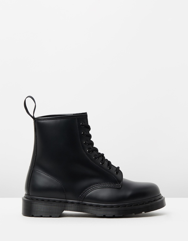 Dr Martens - 1460 Mono 8-Eye Boots - Unisex