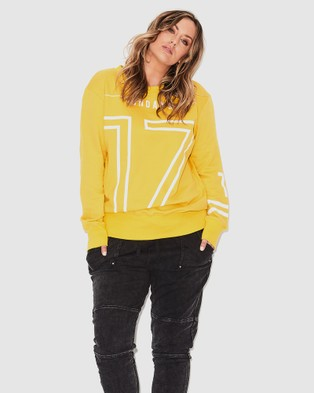 17 Sundays 17 Sweat - Jumpers & Cardigans (Yellow)