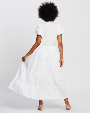Rue Stiic Ava Maxi Dress - Dresses (White)