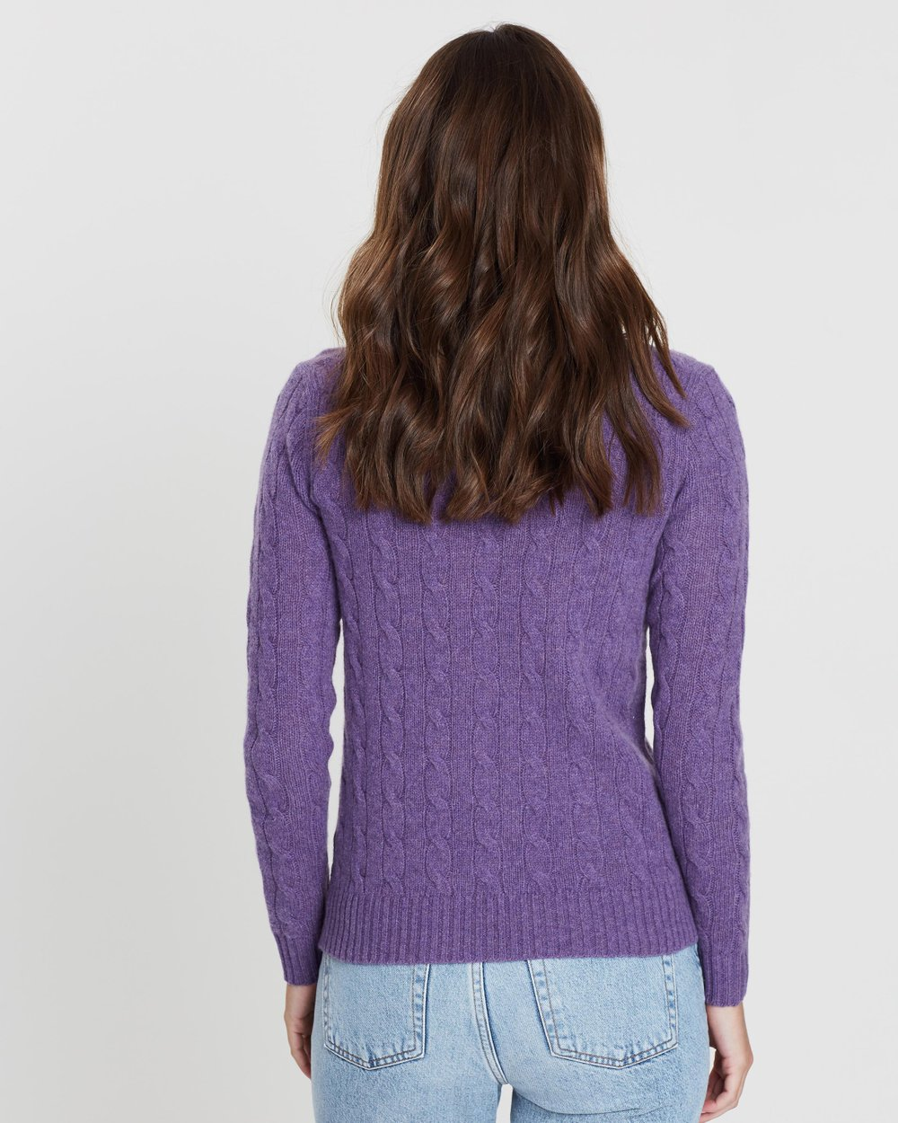 f0c7032d4 Julianna Cable Crew Neck Sweater by Polo Ralph Lauren Online